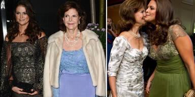 Prinzessin Madeleine & Königin Silvia