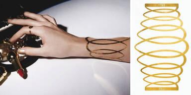 Tattoos aus purem Gold sind der neue Hit