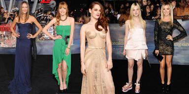 Twilight Saga-Premiere: Die Roben der Stars