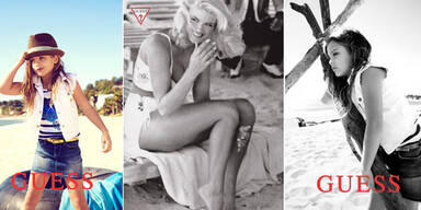 Anna Nicole Smith's Tochter als Guess-Model