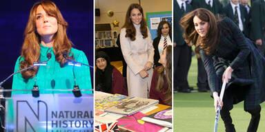 Herzogin Kate: Hat sie sich übernommen?
