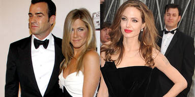 Jennifer Aniston & Justin Theroux, Angelina Jolie