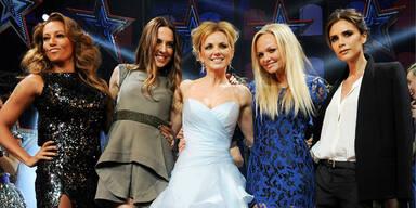 Spice Girls im Wandel der Zeit