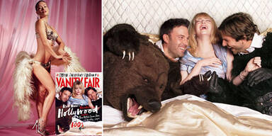Tierische Abenteuer in der neuen 'Vanity Fair'