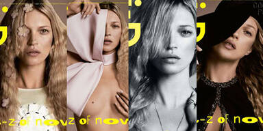 Kate Moss bekommt gleich 4 Cover