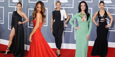 Looks von den Grammy Awards 2013
