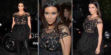 Kim wehrt sich weiterhin gegen Umstands-Mode