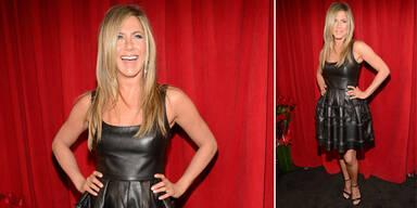 Jennifer Aniston mag sich auch mit mehr Kurven