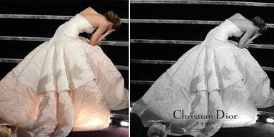 Jennifer Lawrences Panne als Kampagnen-Idee