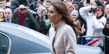 Kate shoppt Umstandsmode bei Topshop