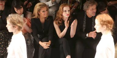 Stars bei der Paris Fashion Week 2013