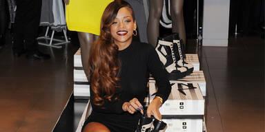Rihanna feiert Store-Launch ihrer Kollektion