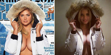 Kate Uptons russische Doppelgängerin