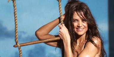 Katie Holmes als sexy Beach Babe