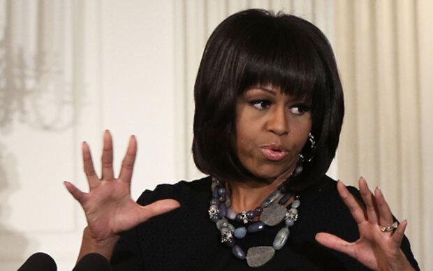 Michelle Obama genervt von Stirnfransen