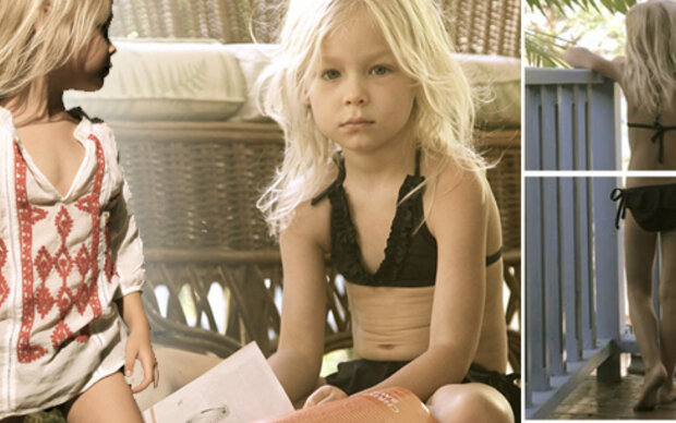 Gwyneth Paltrow: Kritik wegen Kinderbikinis