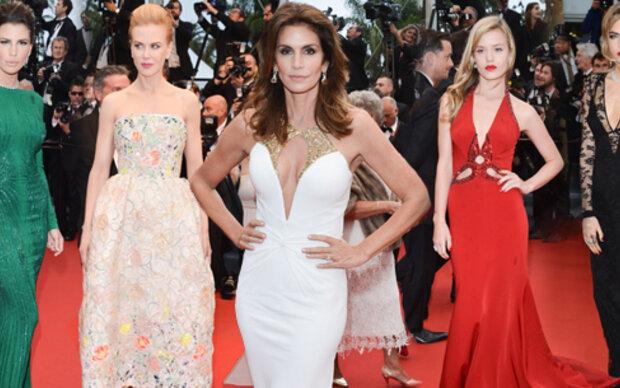 Roben-Schau in Cannes
