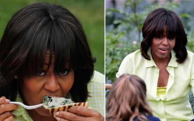 Michelle Obama: Erste graue Haare