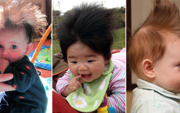 Baby-Contest: Wer hat die verrücktesten Haare?