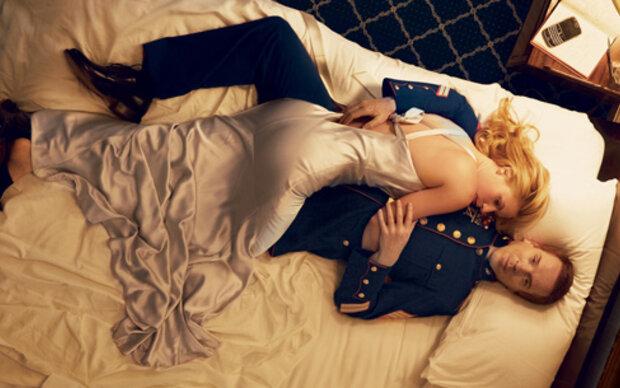 Claire Danes um ein Bein kürzer