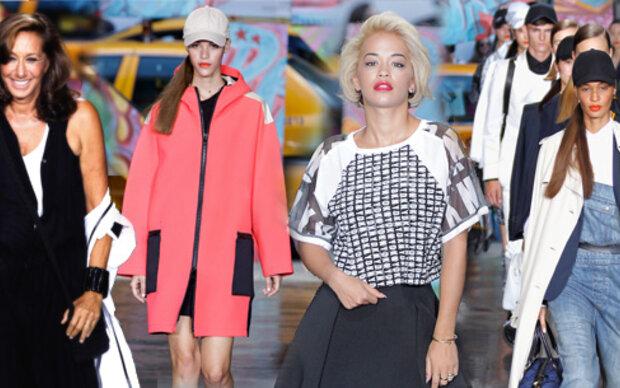 Rita Ora als Star der Donna Karan-Show
