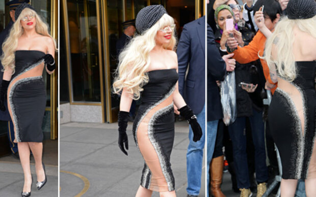 Lady Gaga lässt alles durchblicken