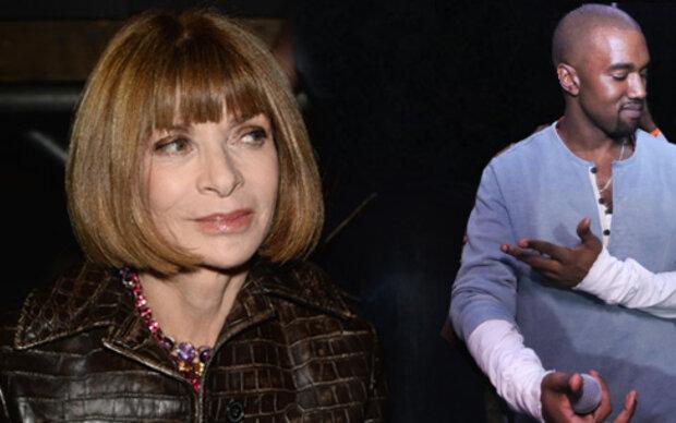 Anna Wintour besuchte Kanye Wests Konzert