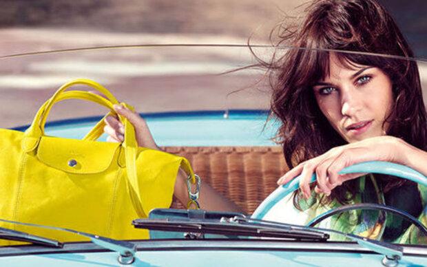 Alexa Chung ist neues Gesicht von Longchamp