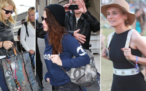 Chanel: Luxus-Tasche im Lumpen-Look