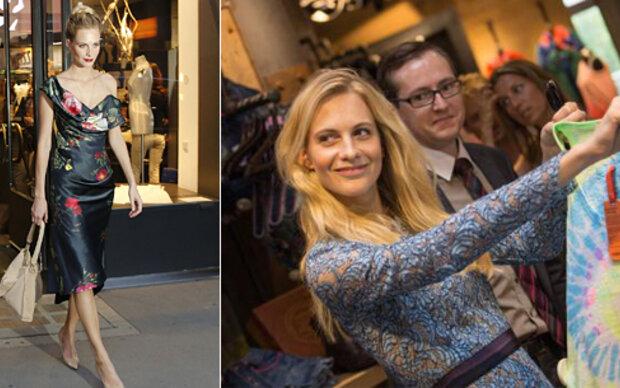 Poppy Delevingne shoppte in Wien