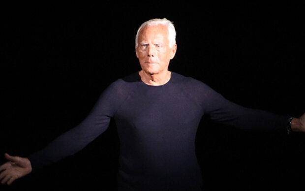Giorgio Armani wird 80