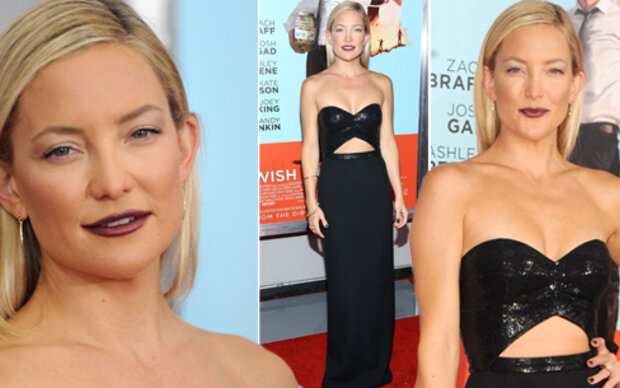 Kate Hudson: Outfit top, Make-Up Flop!