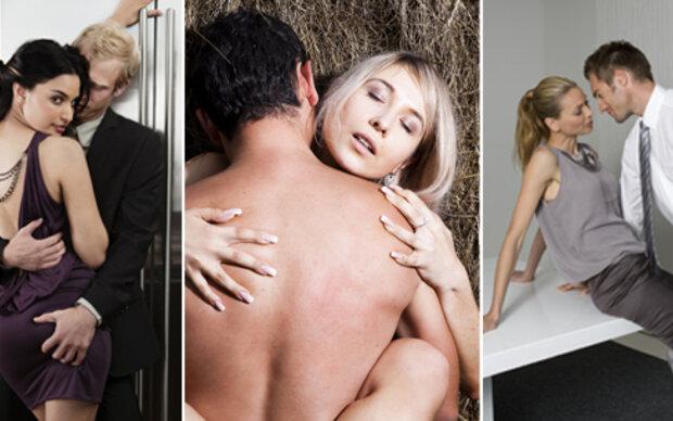 Top 10 Orte für heißen Sex