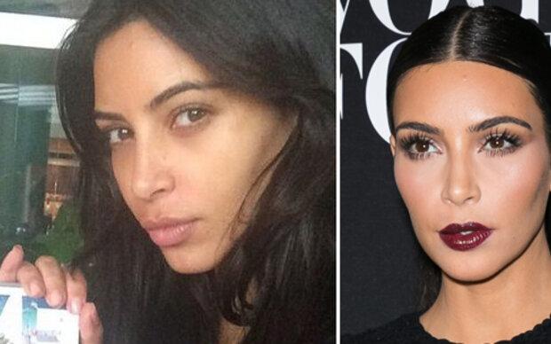 So schön ist Kim Kardashian ohne Make-up