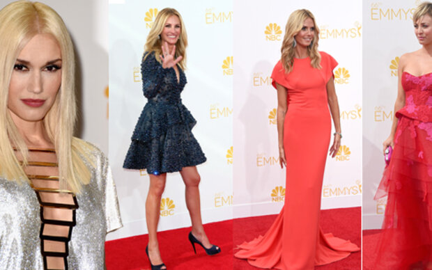 Glamour-Parade bei den Emmy Awards