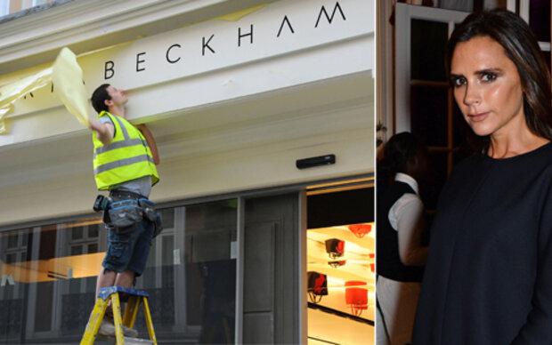 Victoria Beckham eröffnet erste Boutique