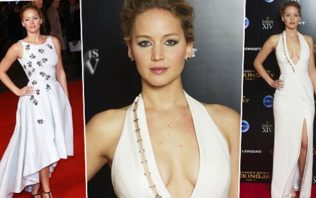 Jennifer Lawrence: Heiß in Weiß