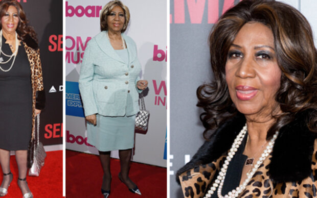 Aretha Franklin: Vom Leo-Look zur Bieder-Lady