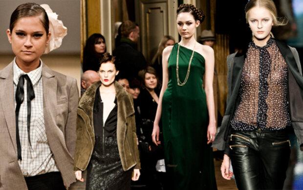 Düstere Fashion aus Kopenhagen