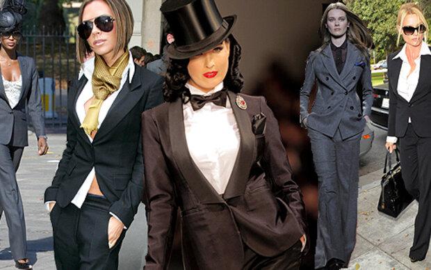 Ladies in Black: der Smoking-Look