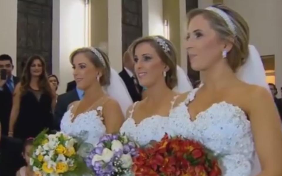 Hochzeits-Dreier in Brasilien