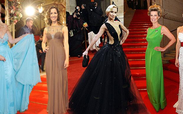 Die Opernball-Roben & Looks 2011