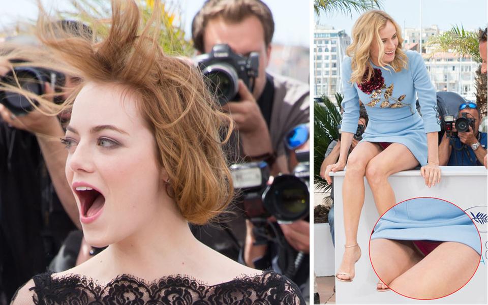 Cannes, vom Winde verweht
