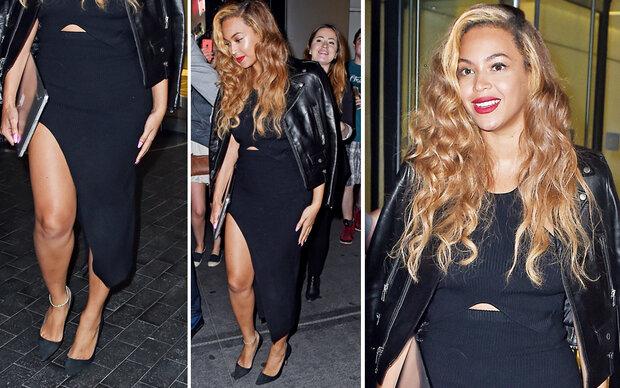Beyoncé zeigt Bein