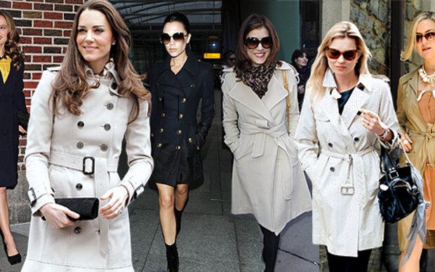 Kate macht Trench zu Mode-Hit