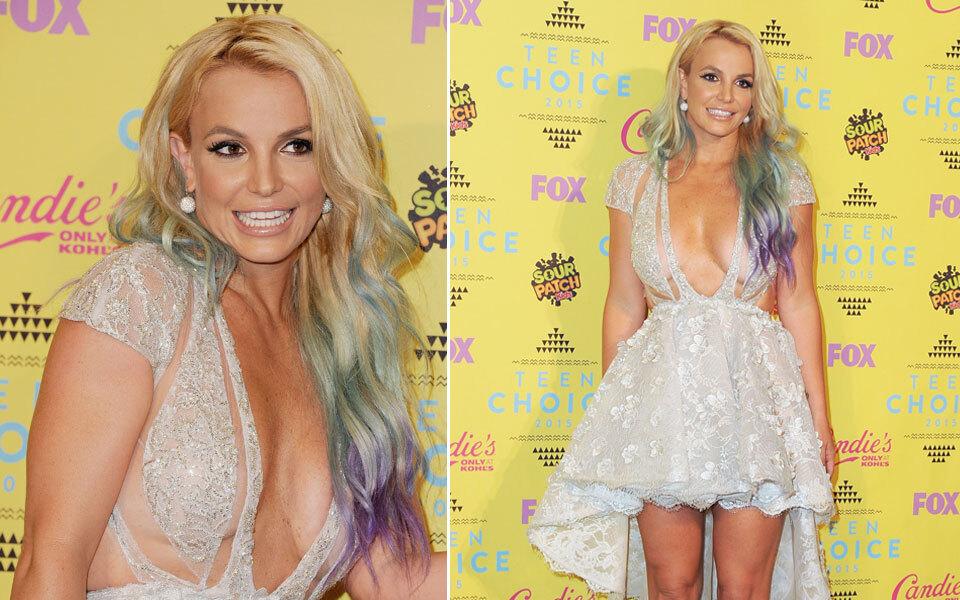 Britney, bist du in den Farbtopf gefallen?