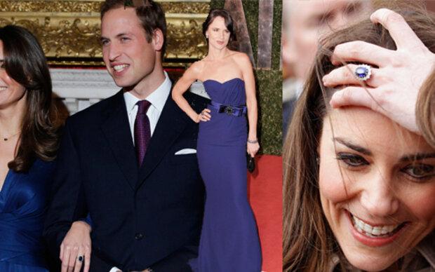 Alle wollen Kate's blauen Ring!