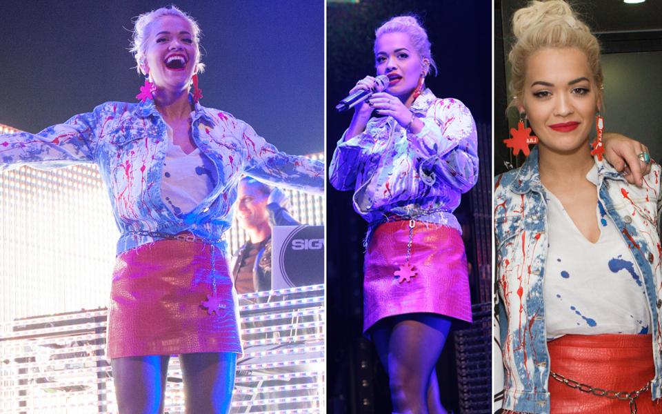 Rita Ora, was ist da passiert?