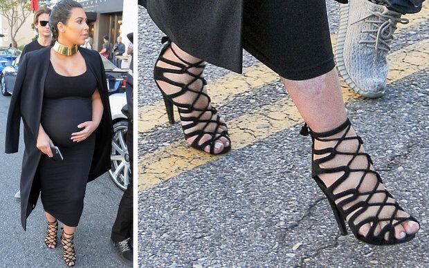 Quetschalarm: Kim quält ihre Füße