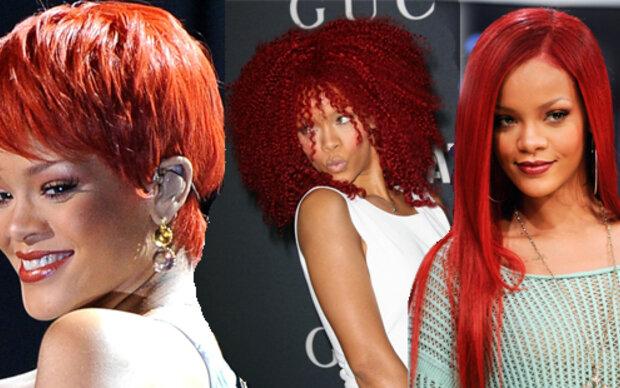 Rihanna hat die Haare kurz